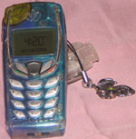 Teli's Cell Phone